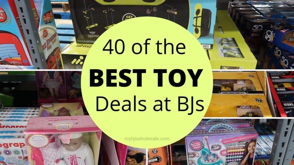 best toy deals at BJs wholesale club