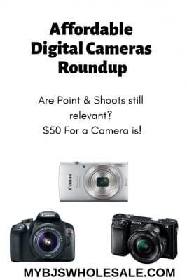 Affordable Camera Roundup