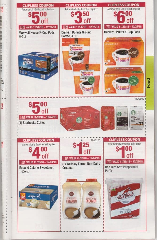 bjs coupons from monthly members book decemeber