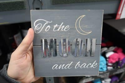 home decor signs at Bjs wholesale club