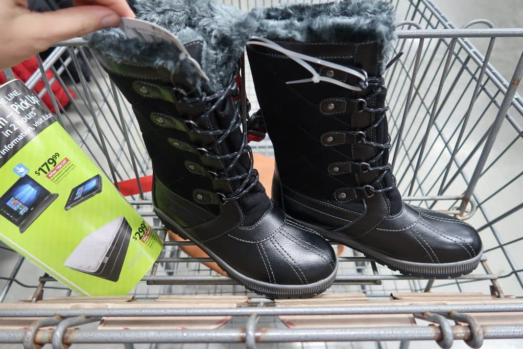 sporto boots deal at BJs