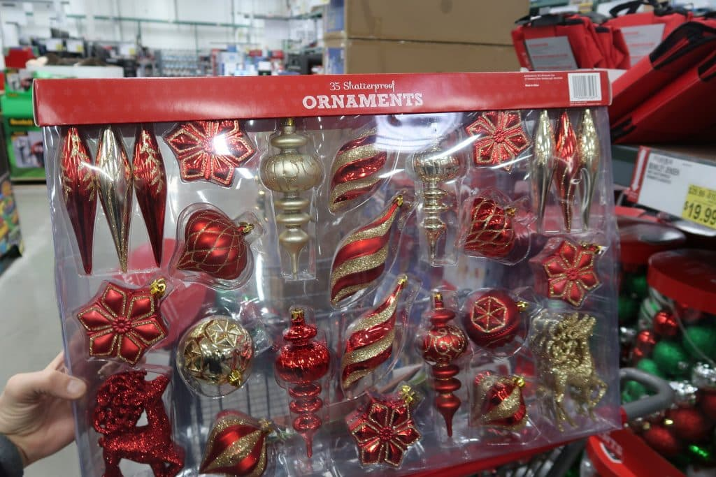 bjs christmas ornaments steal of a deal