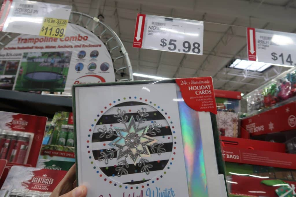 holiday cards at BJs wholesale club coupon