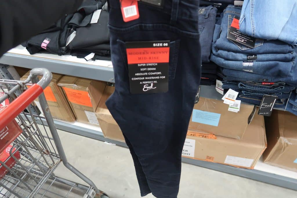 womens jeans marked down