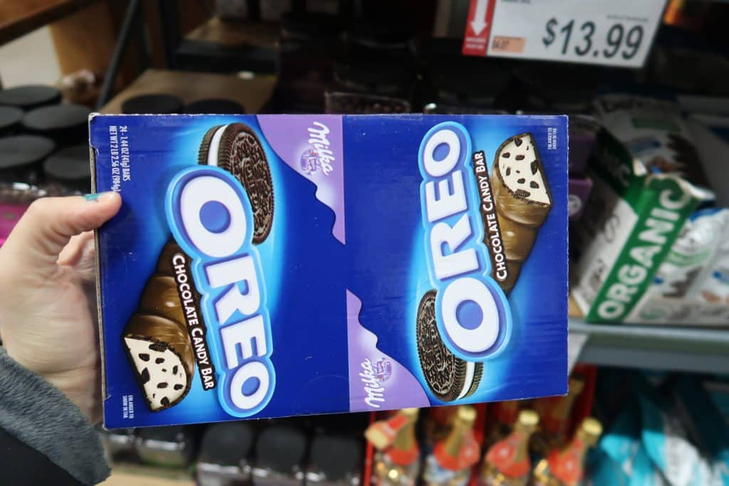 oreo milka cookies