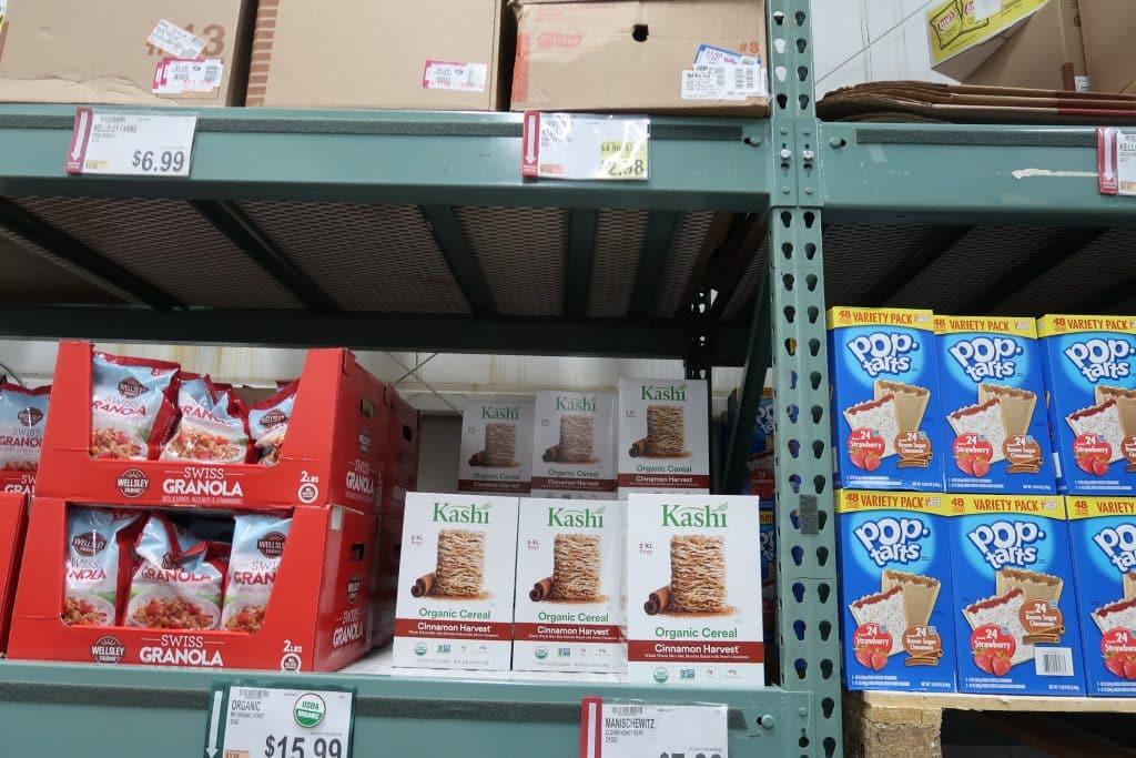 kashi organic cinnamon harvest cereal bjs