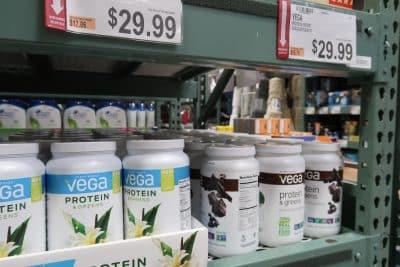 vega protein mix at BJs wholesale club