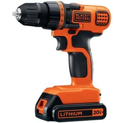 black and decker drill deal on amazon