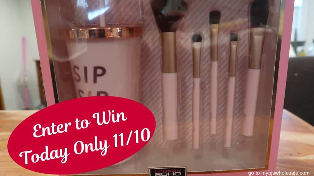 sip sip hooray tumbler and make up brush giveaway