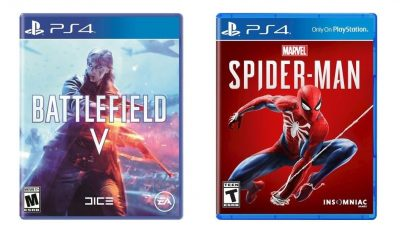 Ebay Spiderman & Battlefield V PS4
