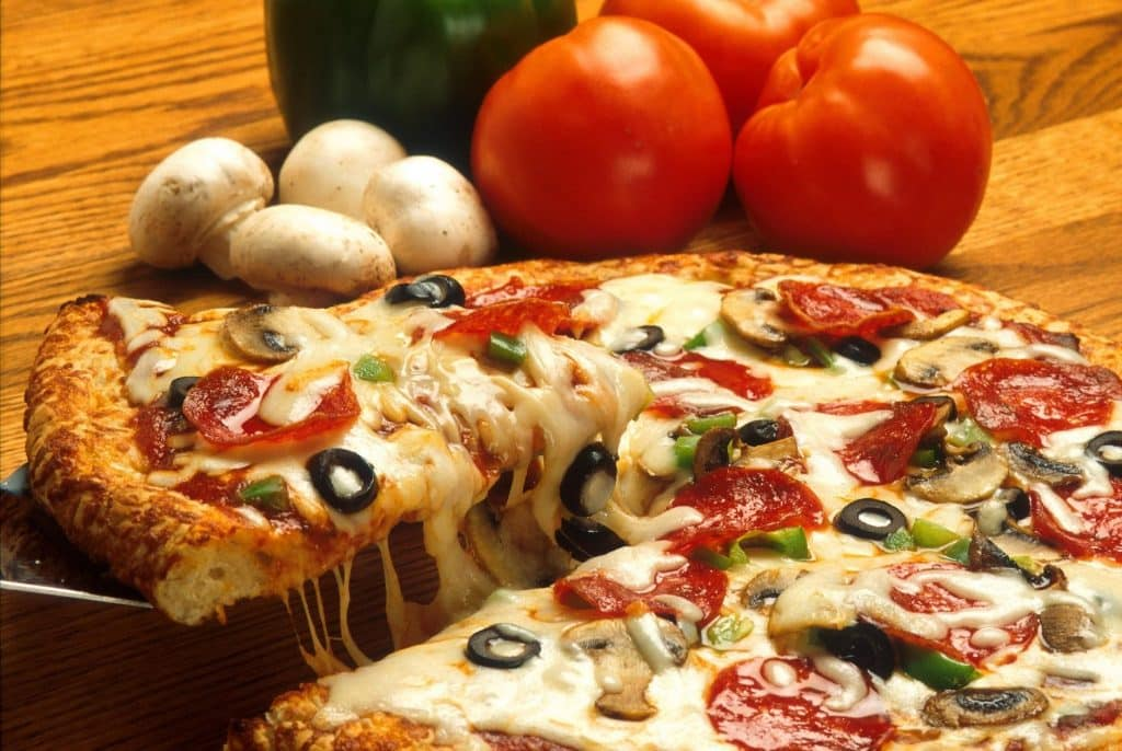 Dominos Pizza 50% off