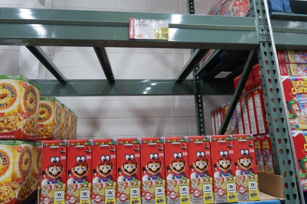 BJs Super Mario Cereal