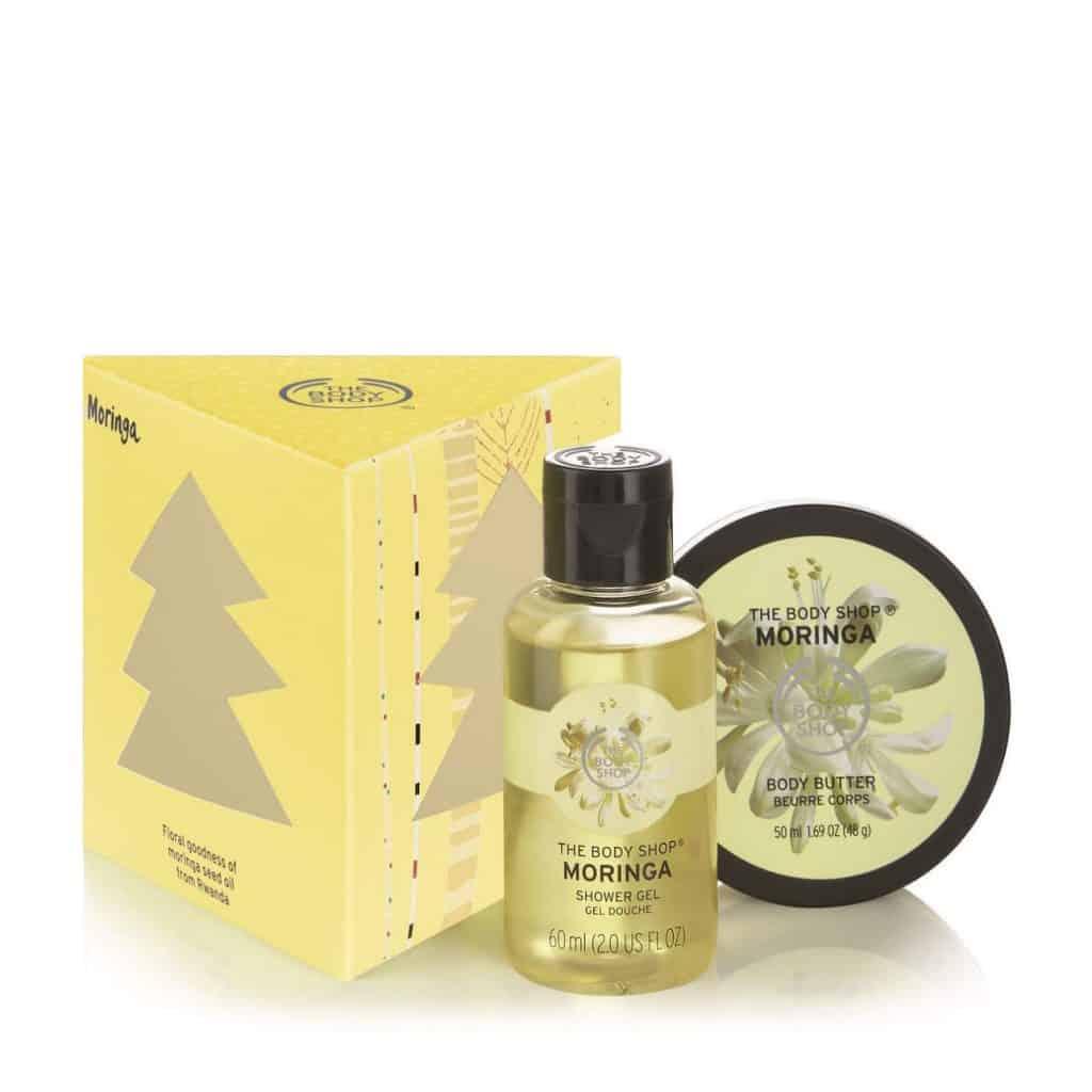 Body Shop Moringa Gift Set