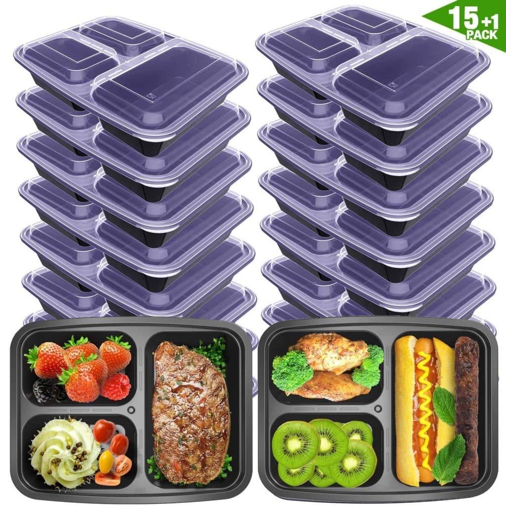 Vancool prep containers