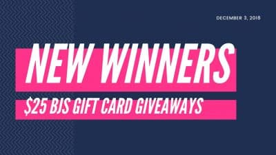 weekly gift card winners picked