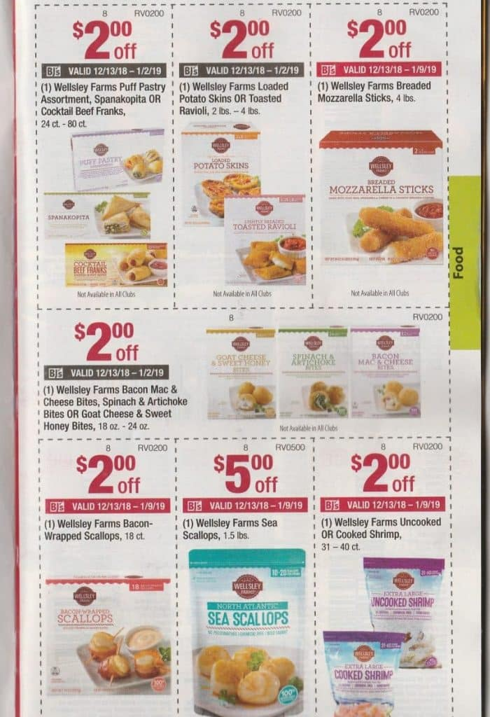 bjs monthly coupon matchup book