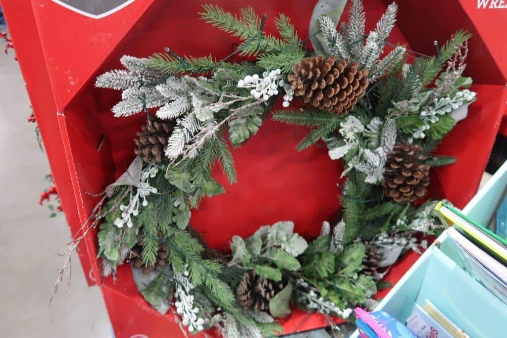 bjs holiday wreaths on sale