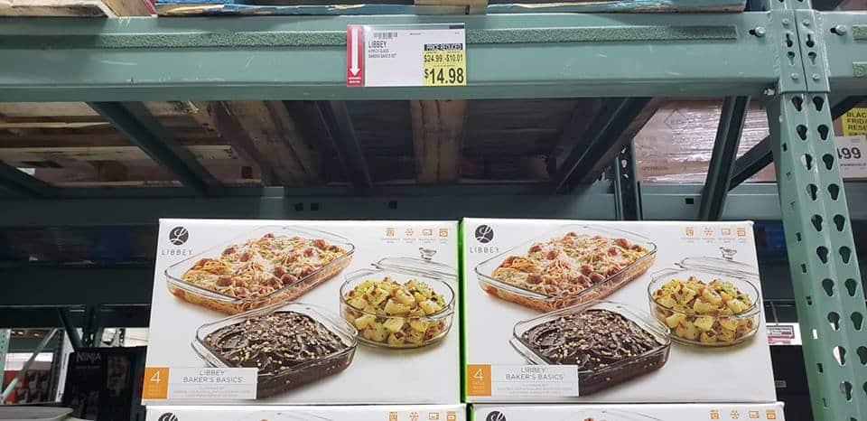 casseroe dishes bjs price markd down