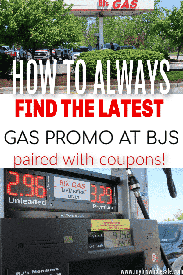 Bjs gas promotion discount paired with coupons