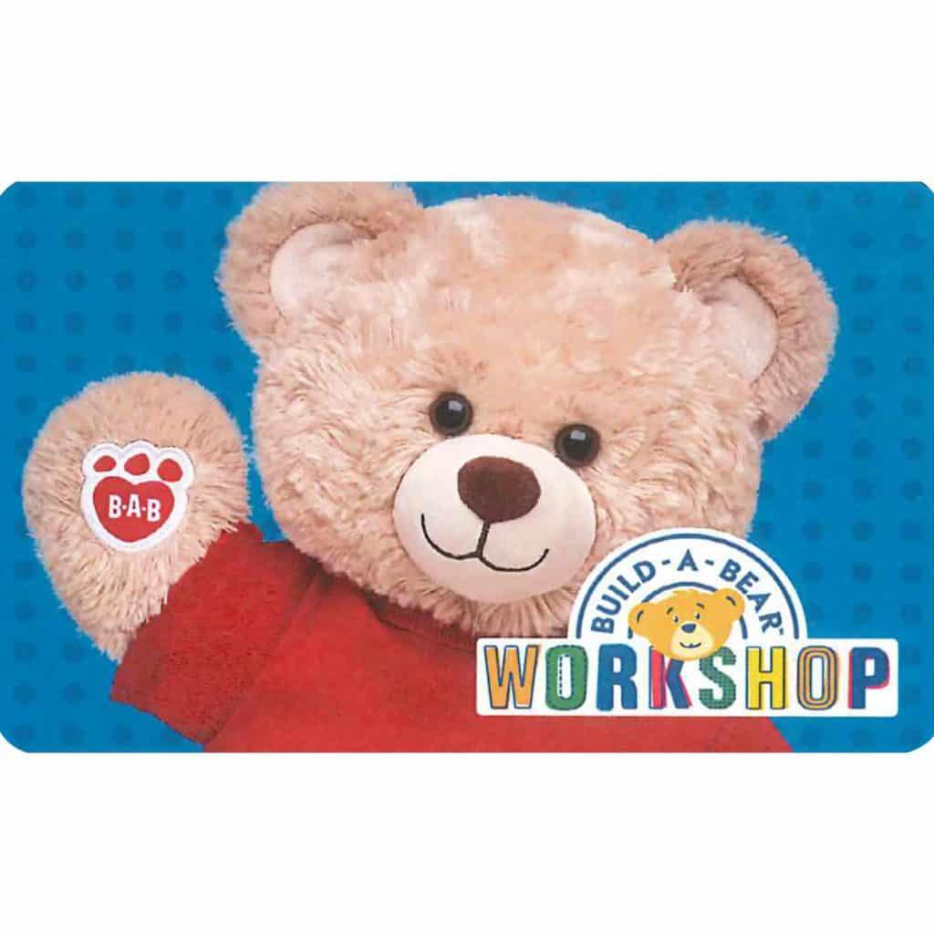 build a bear gift card deal