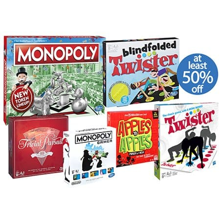 Walmart 50% off Board Games