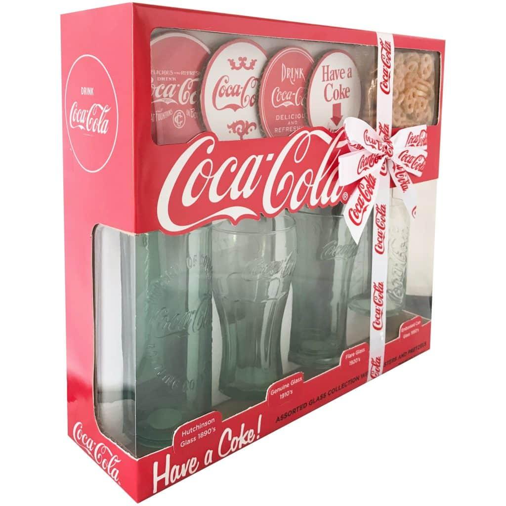 Coca-Cola Glasses $9.99 at Walmart