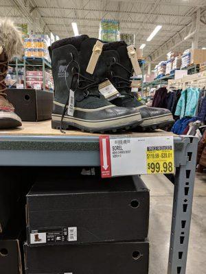 Winter Boots at BJs Markdowns