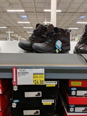 BJs Winter Boots