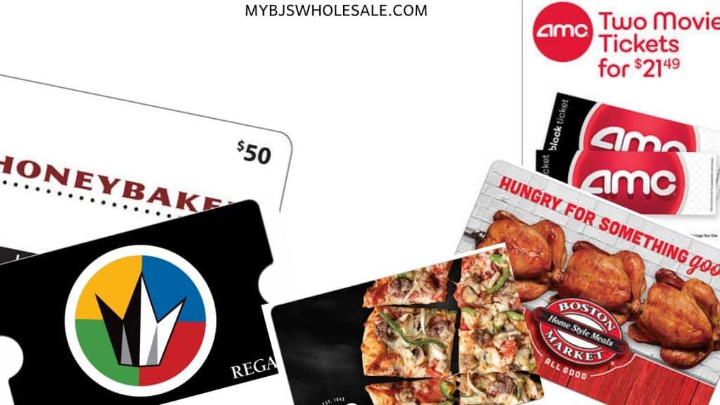 BJs Gift Cards