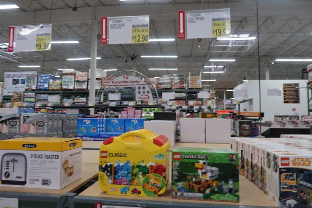 lego sets cheap at BJs