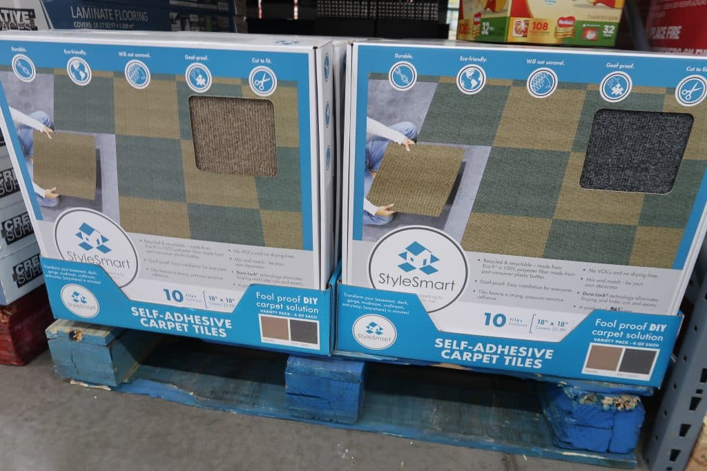 BJs Carpet Tiles $16.99