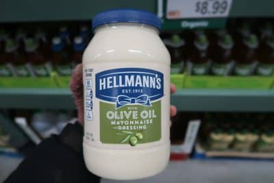hellmanns olive oil