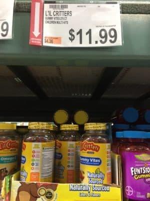 lilk critters vitamin and vitafuison bjs coupon deal