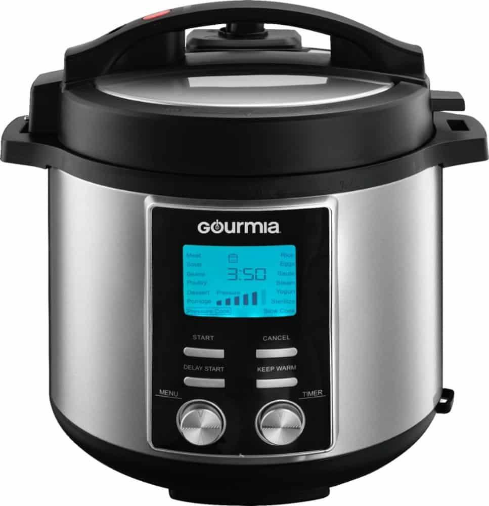 Gourmia 6 Qt Pressure Cooker