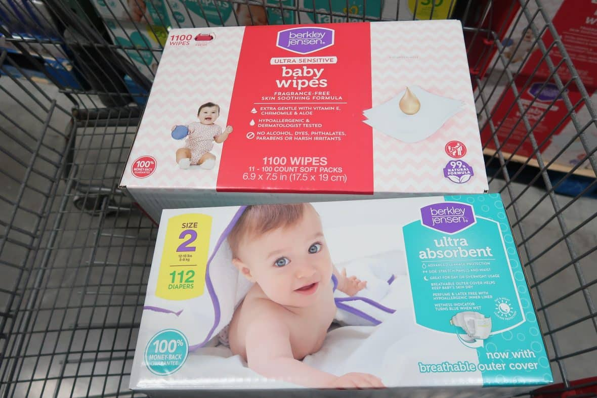 $4 off BJ's Brand Diapers & Wipes Coupon