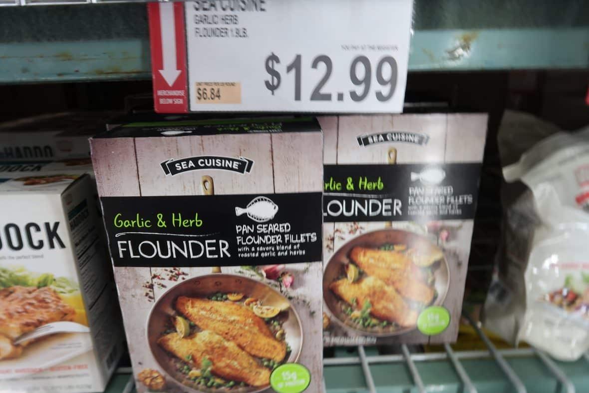 sea cuisine flounder bjs coupon deal
