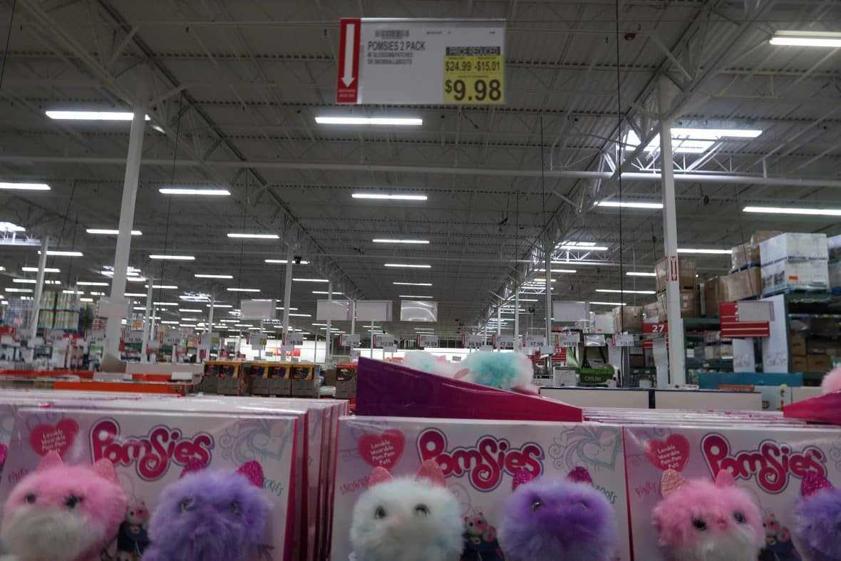 pomsies two pack cheap at BJs wholesale club