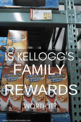 is kelloggs family rewards worth it