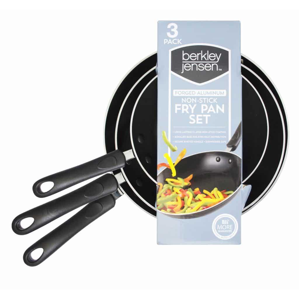 BJs 3 pc Fry Pan Set