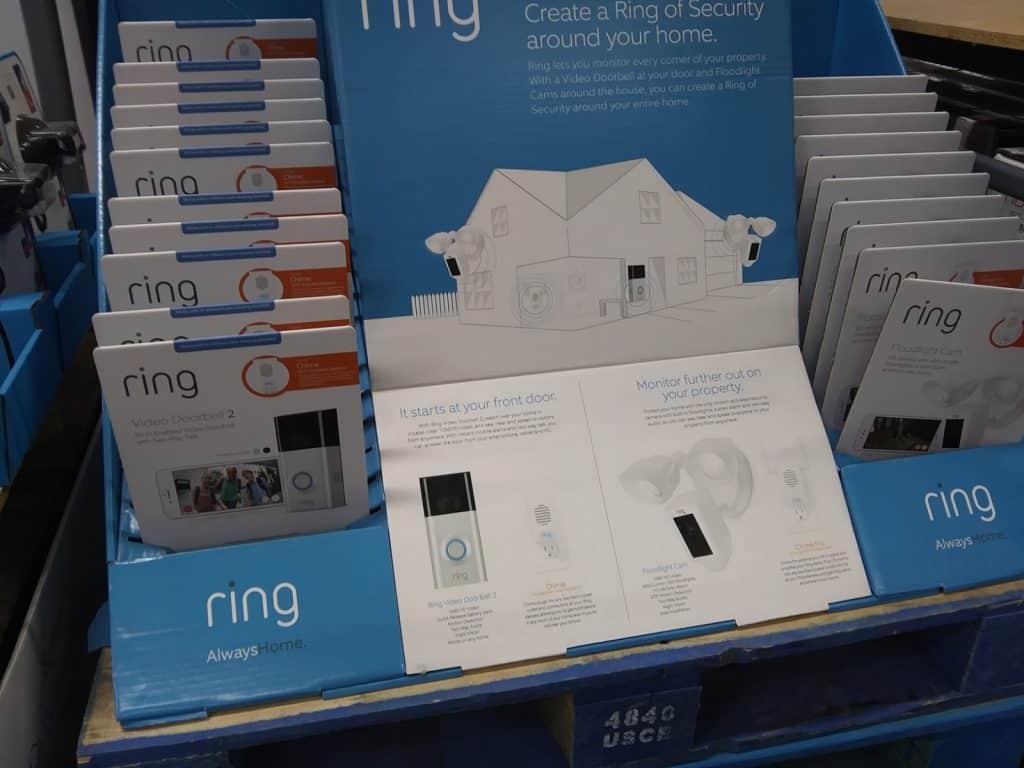 ring 2 doorbell with bonus chime at BJs deal
