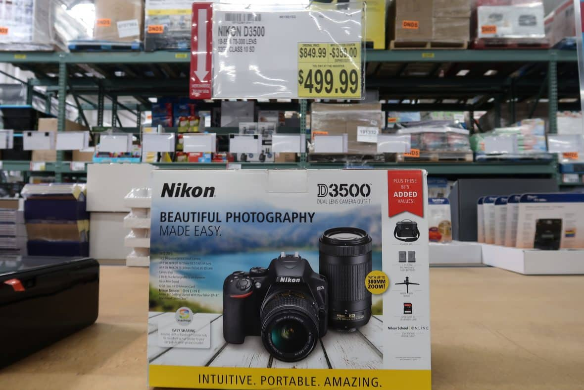 nikon camera deal at BJs