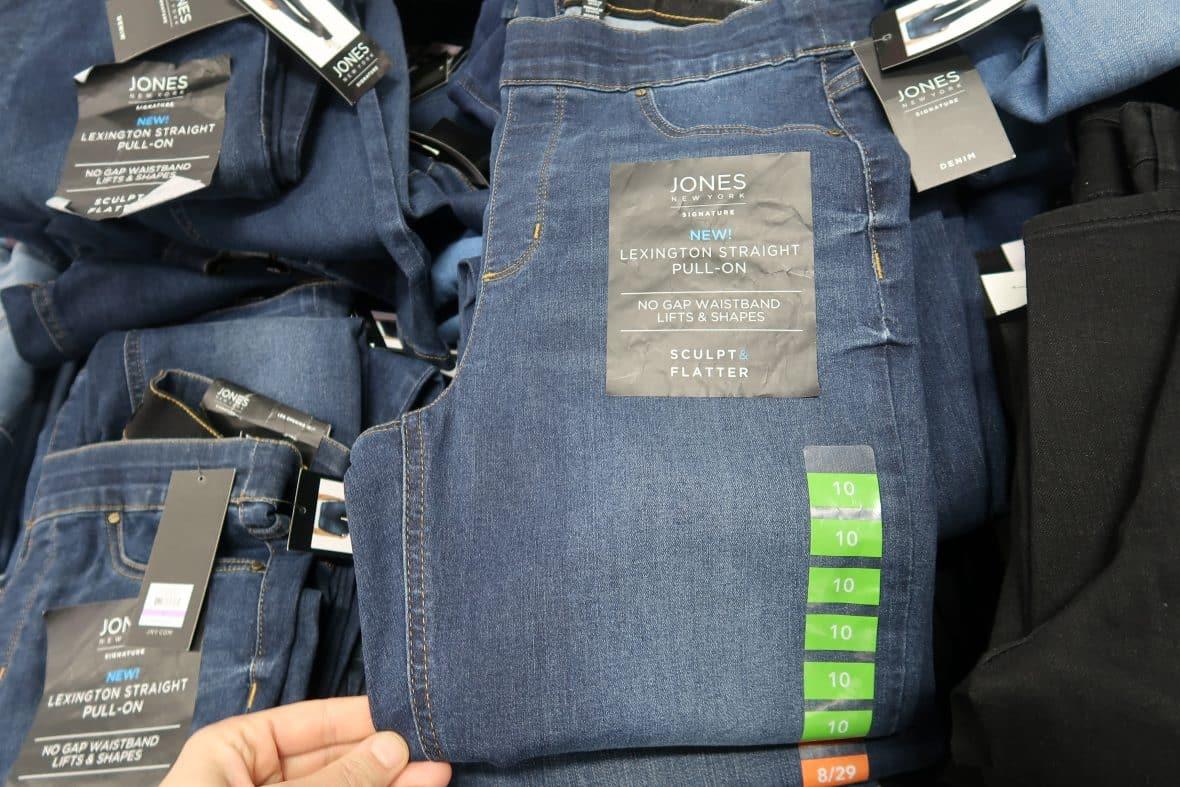 earl grey jeans cheap at BJs