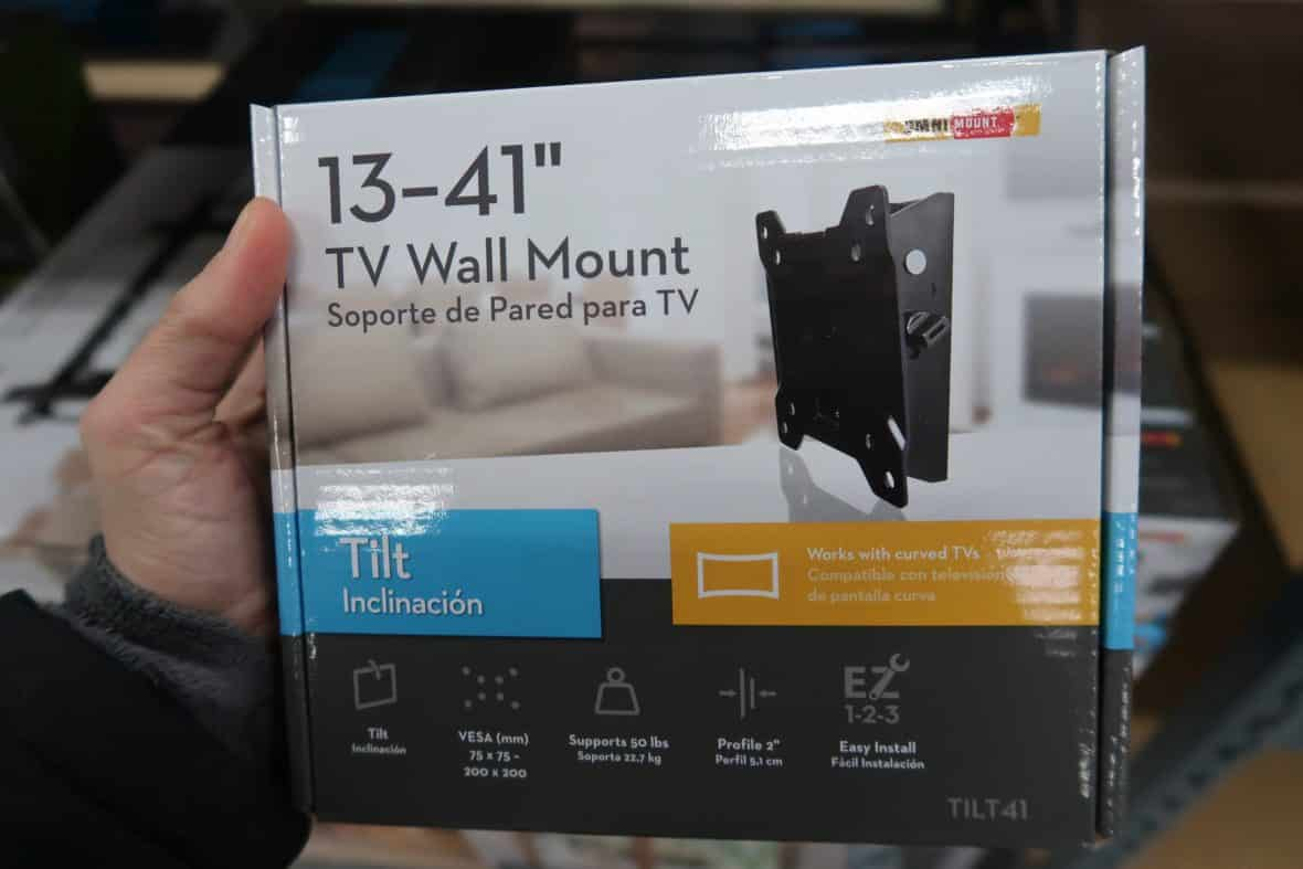 tv wall mount deal at BJs wholesale club
