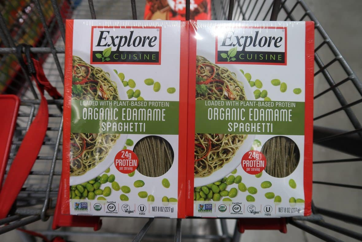 Really Cheap Organic Edamame Spaghetti