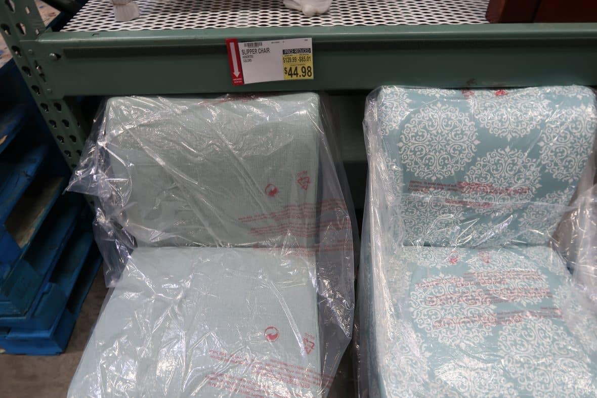 BJs Slipper Chair $44.98