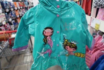 kids rain jackets at BJs on sale