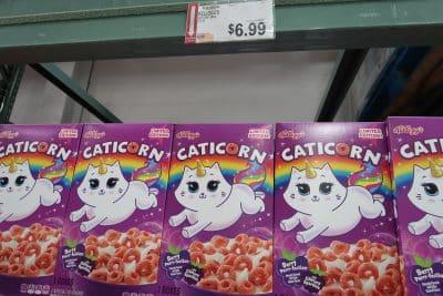 kelloggs caticorn cereal