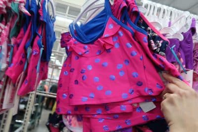 kids swimsuits at BJs