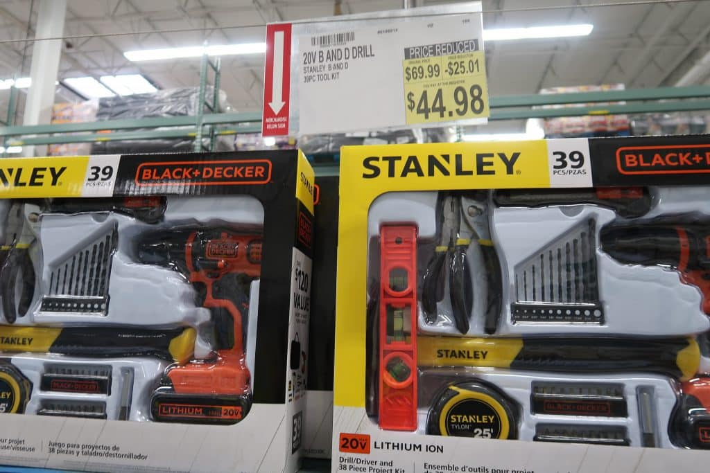 Fathers day gift idea stanley drill set