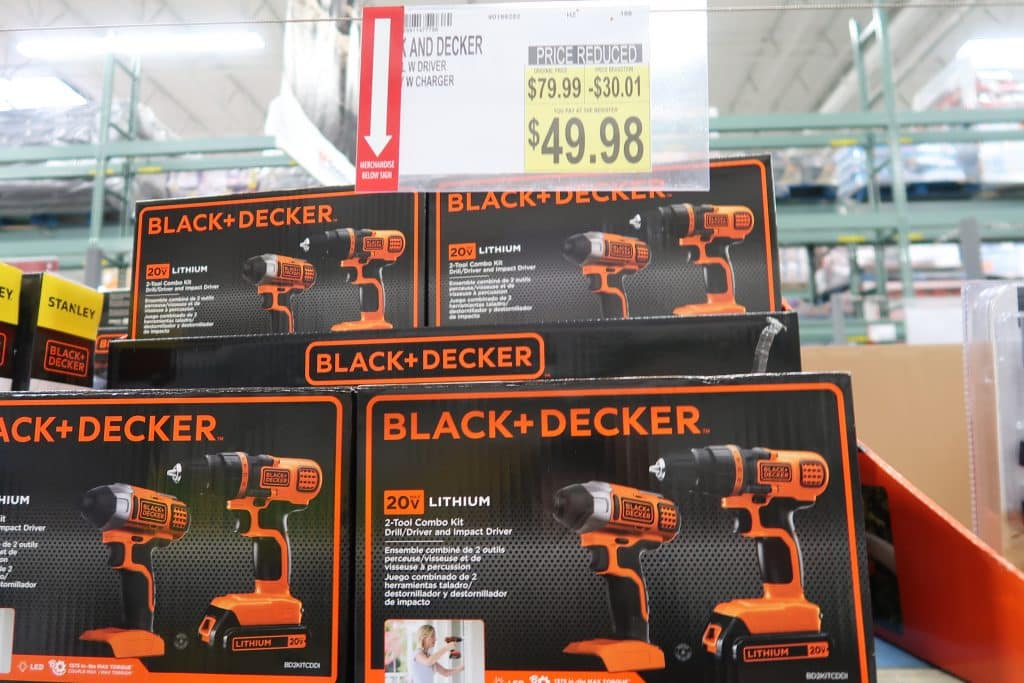 fathers day gift ideas black and decker at BJs